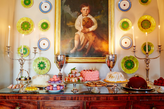 Glenmere Mansion pastry display ©Melanie Acevedo & David Engelhardt for Rizzoli New York