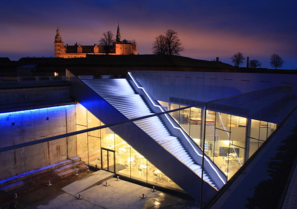 M/S Maritime Museum Denmark with Kronborg Castle in the distance ©Visit Copenhagen