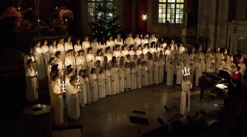 Lucia concert at Gothenburg Cathedral © Per-Anders E Hurtigh for Göteborg & Co