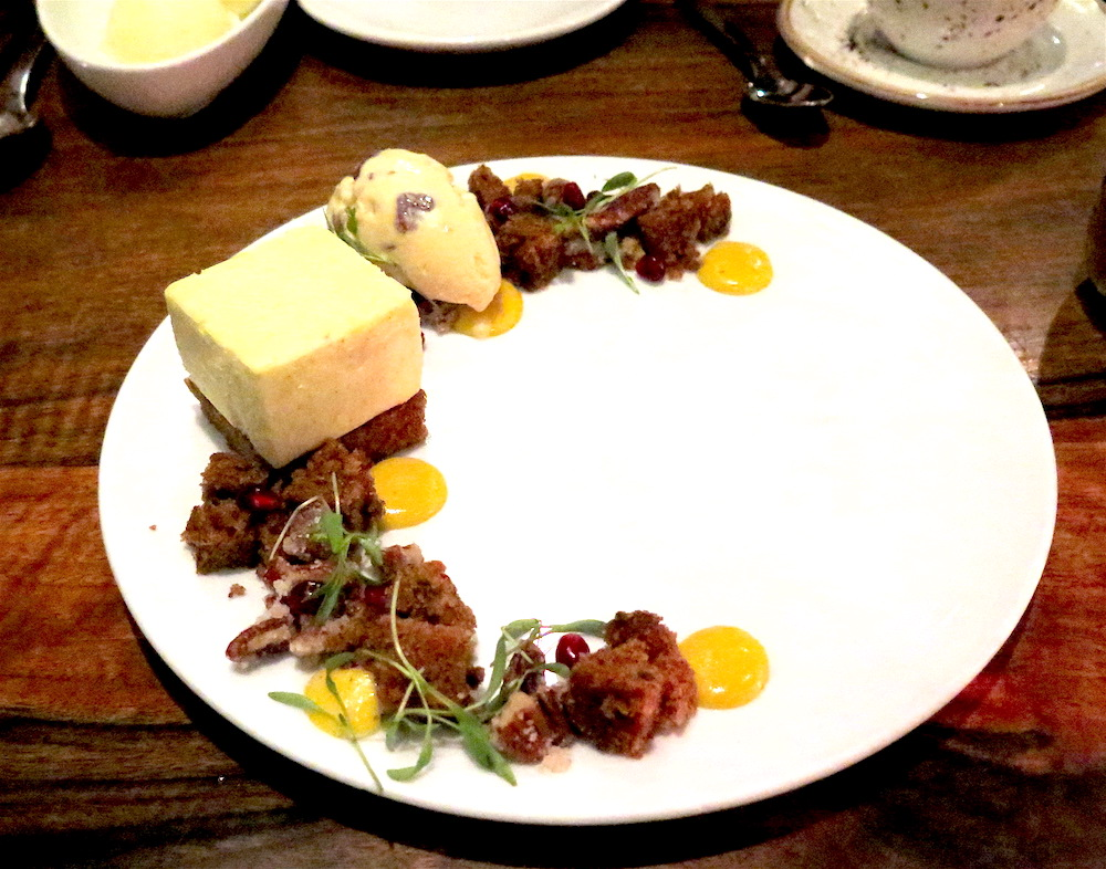 Pastry Chef Yarisis Jacobo's Vanilla Cheesecake ©MRNY