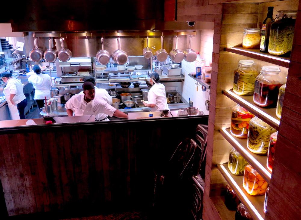 Tessa's open kitchen ©MRNY