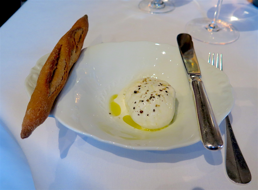 The bread course at Del Posto ©MRNY