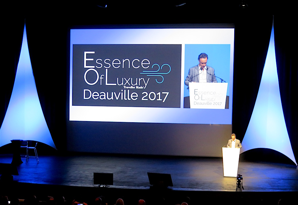 Quentin Desurmont, founder of Traveller Made, at Essence of Luxury 2017 ©MRNY